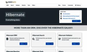 Hibernate.org thumbnail