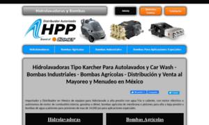 Hidrolavadorasybombas.com.mx thumbnail