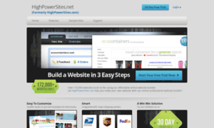 Highpowersites.net thumbnail