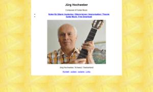 Hochweber.ch thumbnail