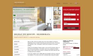 Holiday-inn-seligerskaya.moscowotel.ru thumbnail