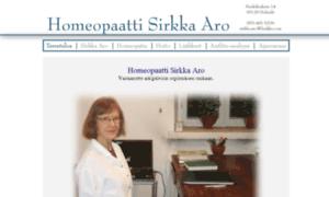 Homeopaattisirkkaaro.fi thumbnail