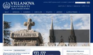 Homepage.villanova.edu thumbnail