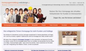 Homepageerstellung-webdesign.de thumbnail