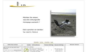 Homepageerstellung.net thumbnail