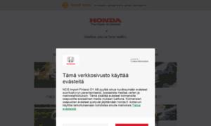 Honda.fi thumbnail