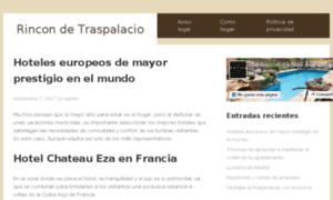 Hotelesconencanto-rincondetraspalacio.es thumbnail