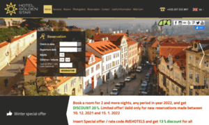 Hotelgoldenstar.cz thumbnail