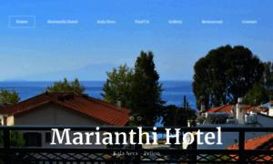 Hotelmarianthi.com thumbnail