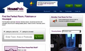 Housepals.co.uk thumbnail