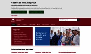 Hse.gov.uk thumbnail