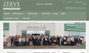 Hukuk.zirve.edu.tr thumbnail