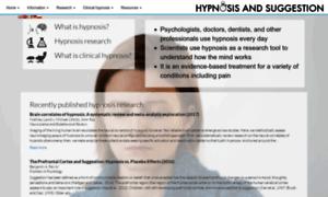 hypnotism research paper How to write a research paper how to write an essay acting as if you are hypnotizedà by nicholas spanos hypnotism , contrary to common.