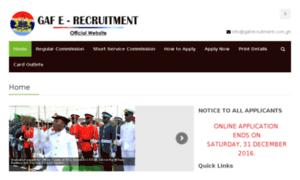 I.gafrecruitment.com.gh thumbnail