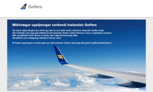 Icelandairgolfers.is thumbnail