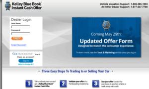 ico dealer kelley blue book instant cash offer login. Black Bedroom Furniture Sets. Home Design Ideas