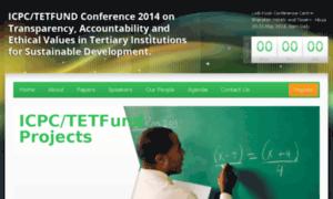 Icpctetfund2014.org thumbnail