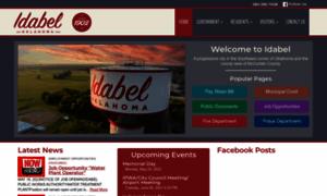 Idabel-ok.gov thumbnail