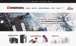 Identatronics.com.mx thumbnail