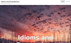 Idiomsandexpressions.com thumbnail