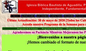 Iglesiabiblicabautista.org thumbnail