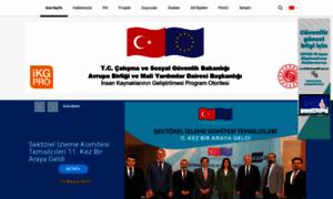 ikg.gov.tr - İnsan Kaynaklarının Geliştirilmesi Program Otoritesi &8211 Gelişen Hayatlar Değişen Türkiye