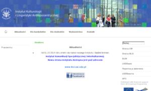 Ikla.uw.edu.pl thumbnail