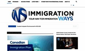 Immigration-ways.com thumbnail
