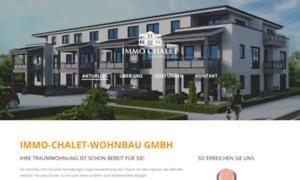 Immo-chalet-wohnbau.de thumbnail