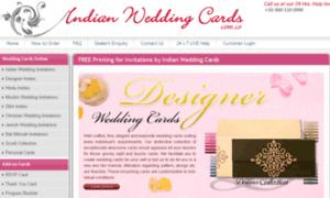 Indianweddingcards.com.co thumbnail
