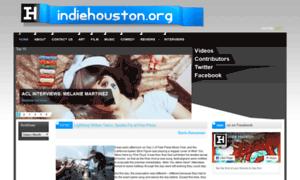 Indiehouston.org thumbnail