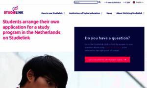 Info.studielink.nl thumbnail