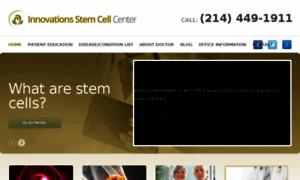 Innovationsstemcellcenter.calls.net thumbnail