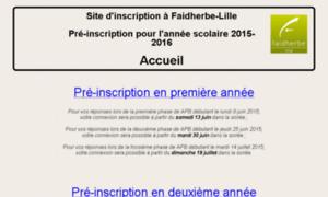 Inscrip2015-cpge.faidherbe.org thumbnail