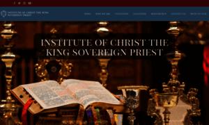 Institute-christ-king.org thumbnail