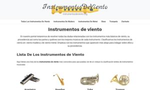 Instrumentosdeviento.org thumbnail