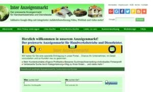 Inter-anzeigenmarkt.de thumbnail