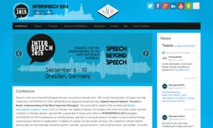 Interspeech2015.org thumbnail