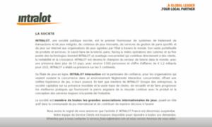 Intralot.fr thumbnail