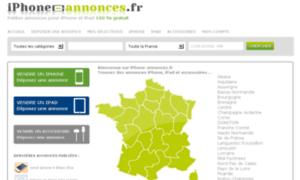 Iphone-annonces.fr thumbnail