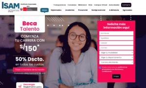 Isam.edu.pe thumbnail