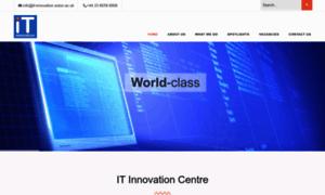 It-innovation.soton.ac.uk thumbnail