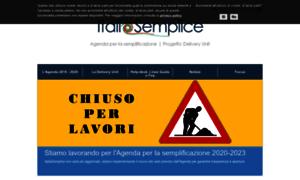 Italiasemplice.gov.it thumbnail