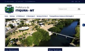 Itiquira.mt.gov.br thumbnail