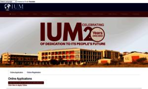 Ium.edu.na thumbnail