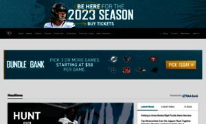Jaguars.com thumbnail