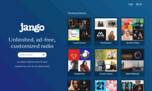 Jango.com thumbnail