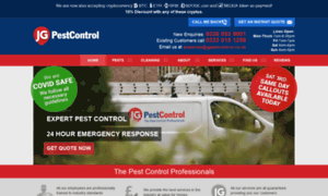 Jgpestcontrol.co.uk thumbnail