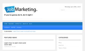 Jobmarketing.biz thumbnail