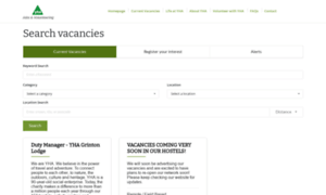 Jobsearch.yha.org.uk thumbnail